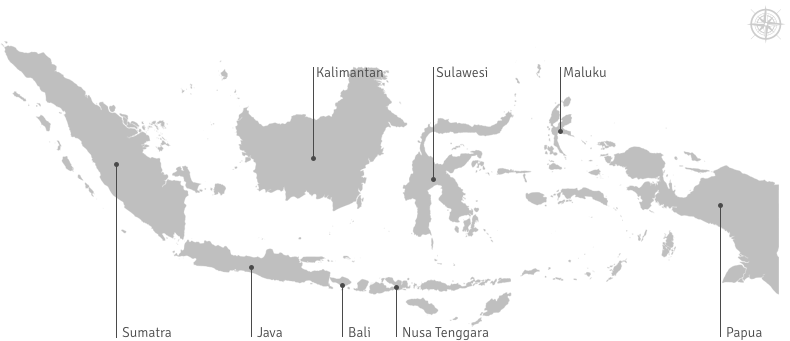 Indonesia Map - Indonesia.Travel