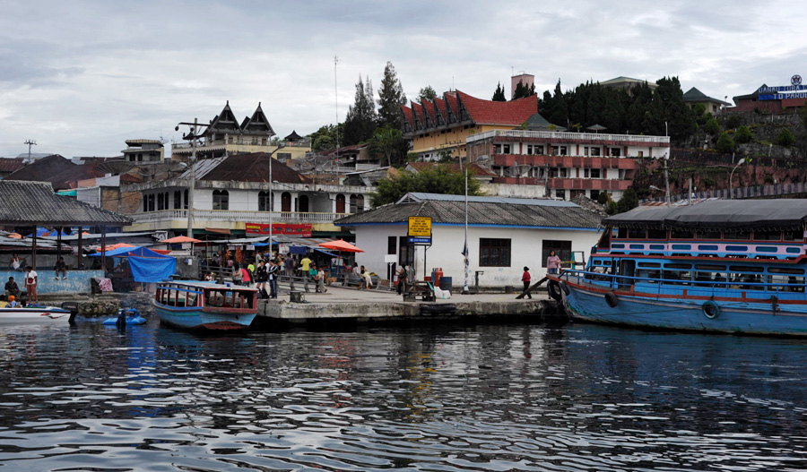 places to visit in parapat Harbour Lake Toba Medan Sumatra Indonesia