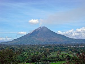 attractions and places to visit in Berastagi Sinabung Gundaling