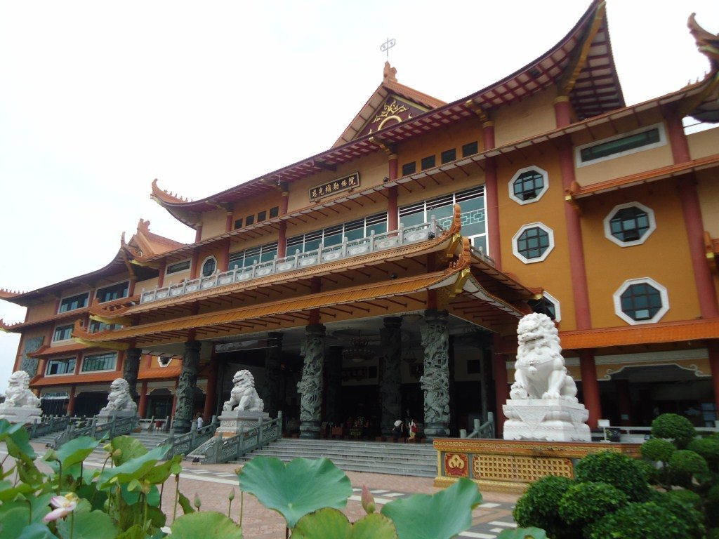 Vihara Maha Maitreya attractions in medan indonesia