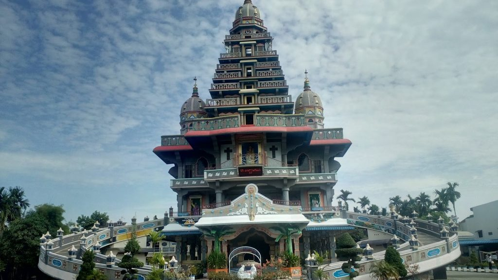 graha maria annai velangkann attractions in medan indonesia