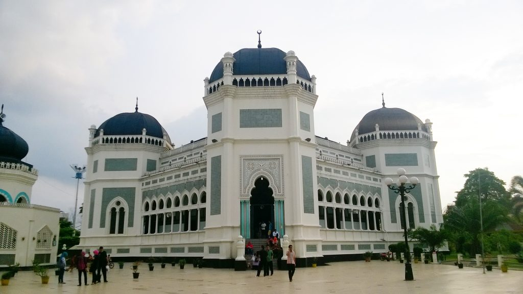 great mosque of medan attractions in medan indonesia