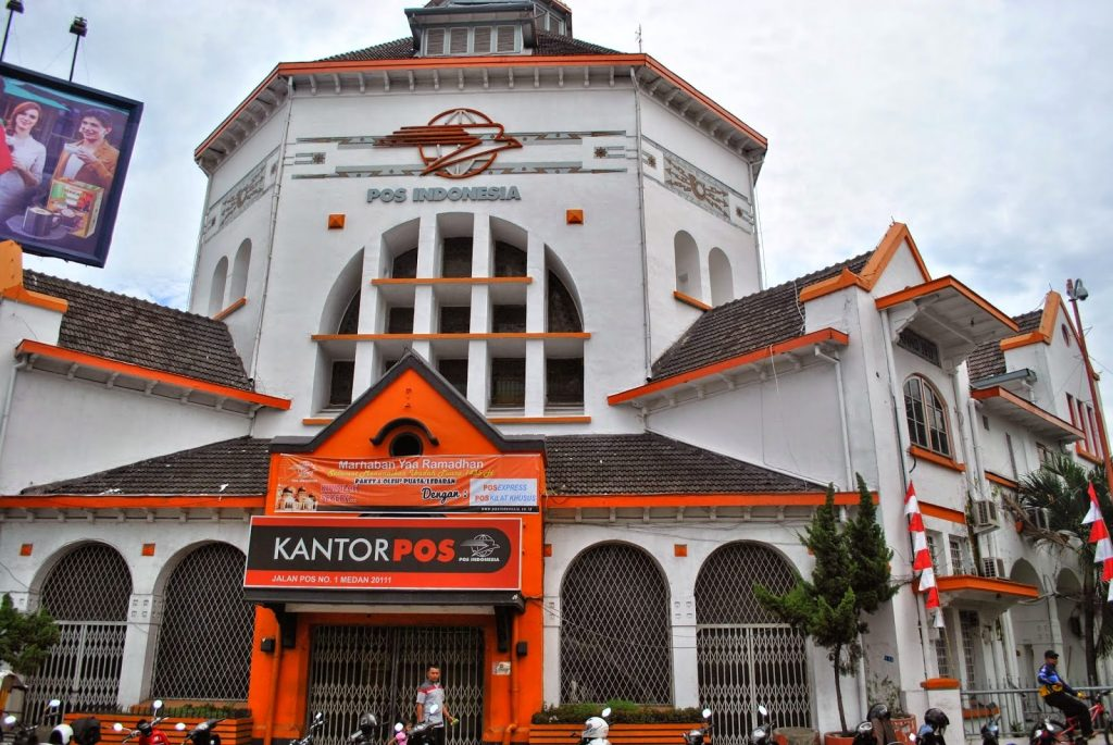 medan post office attractions in medan indonesia