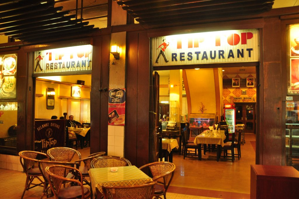 tip top restaurant medan indonesia