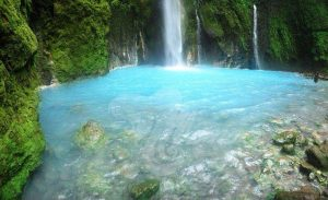 Things to Do in Medan and North Sumatra Two-color waterfall